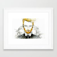 baroque Framed Art Prints featuring Baroque by DanyVo
