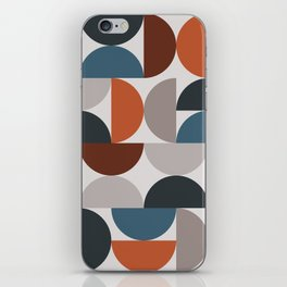Mid Century Modern Geometric 25 iPhone Skin