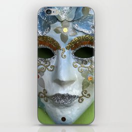Behind the mask iPhone Skin