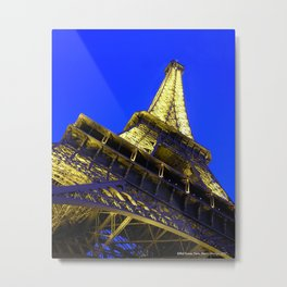 Eiffell Tower Metal Print