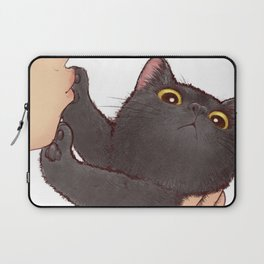 cat : huuh Laptop Sleeve