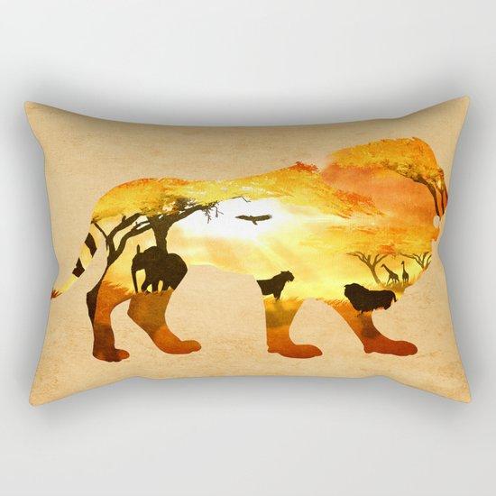 Thy Kingdom Rectangular Pillow