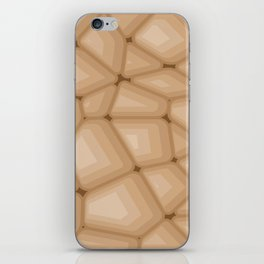 BROWN STONE Abstract Art iPhone Skin
