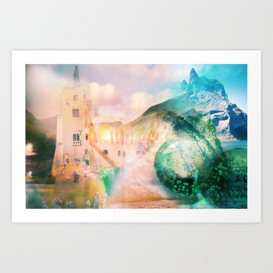 Antiquity [link in description for beter view] Art Print