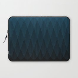 Blue to Black Ombre Signal Laptop Sleeve