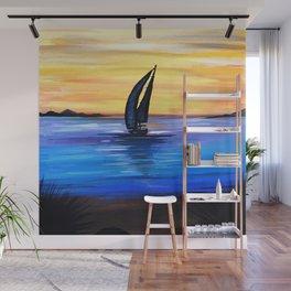 Sail Away Wall Mural