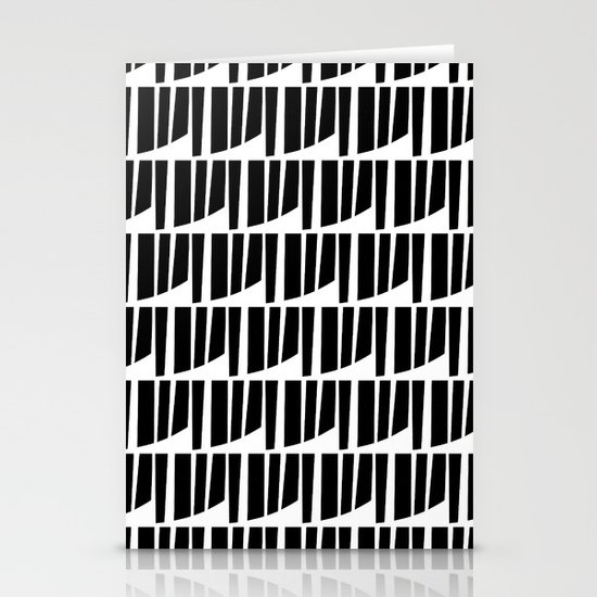 Westfranke Black & White Pattern Stationery Cards