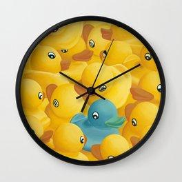 Social Agenda Wall Clock