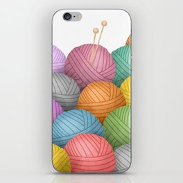 So Much Yarn iPhone Skin