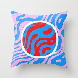 Marbling Throw Pillow