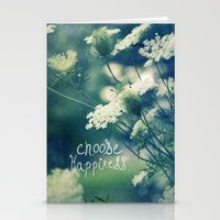 happiness Stationery Cards featuring Happiness by Sandra Arduini