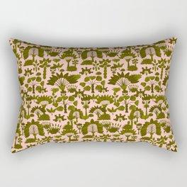Exotic Garden - Olive Rectangular Pillow