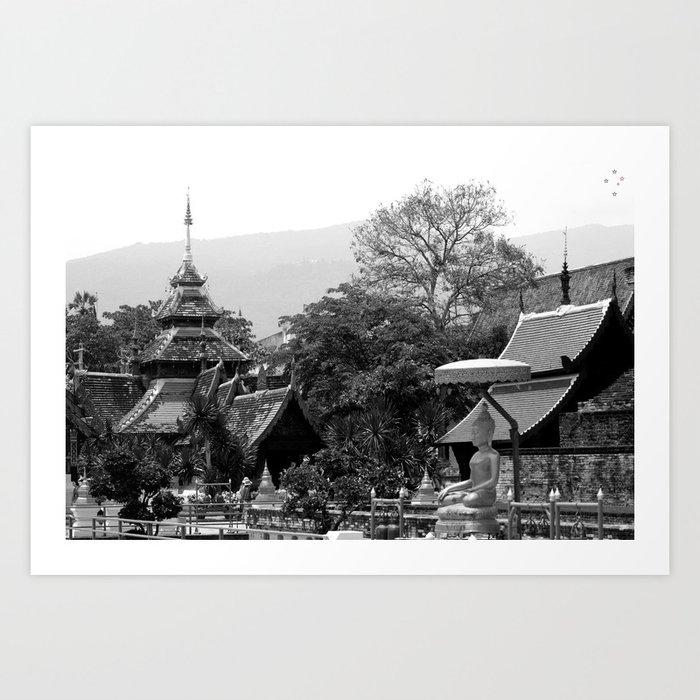 Chiang Mai Art Print