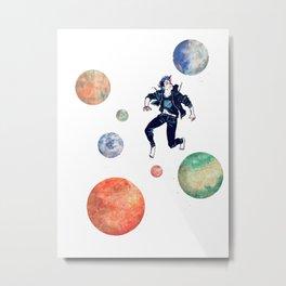 Space Boy Metal Print