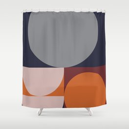 Shades of Autumn #Pantone #color #decor Shower Curtain
