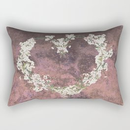 Love every day - dark version Rectangular Pillow
