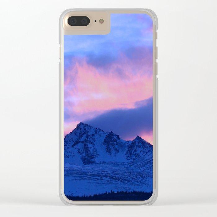 Serenity Rose Sunrise III Clear iPhone Case