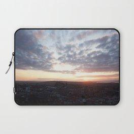 Salisbury Crags overlooking Edinburgh at sunset 4 Laptop Sleeve