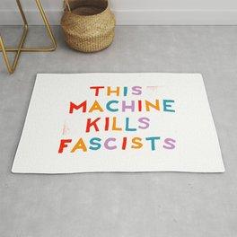 this machine kills fascists Rug