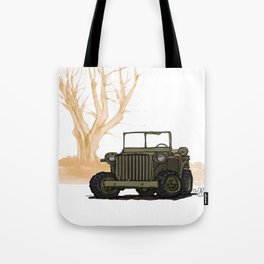 ABRC_(WWII COMBAT VEHICLES (USA) Tote Bag
