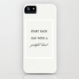 GRATEFUL iPhone Case