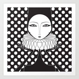 Serge Close Art Print
