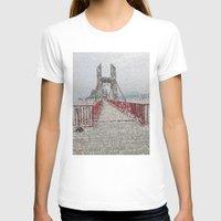 bridge T-shirts featuring Bridge by Mr & Mrs Quirynen