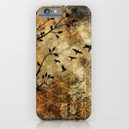 Life In Midst Of Chaos iPhone Case