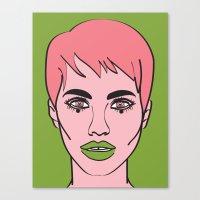 mod Canvas Prints featuring Mod by Grace Teaney Art