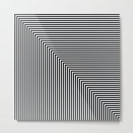 op art - corner Metal Print