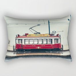 Tram number 6 | Electrico 6. Lisboa, Portugal Rectangular Pillow