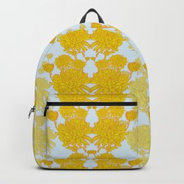 Chysanthemum in Saffron Backpack