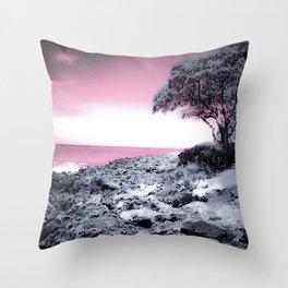 Hawaii Shores Throw Pillow