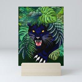Black Panther Jungle Spirit Mini Art Print