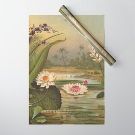 Water Plants Wrapping Paper