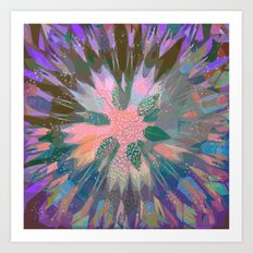 abstract 003. Art Print