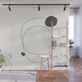 Abstract line art 79 Wall Mural