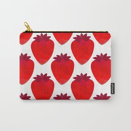 Low poly strawberries Carry-All Pouch