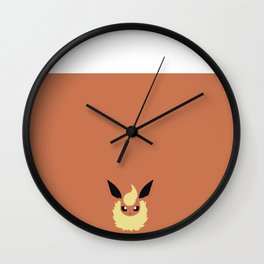 Flareon Wall Clock