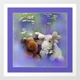 framed pictures -43- Art Print