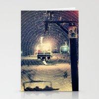 ski Stationery Cards featuring Ski Lift by EvanBurnham