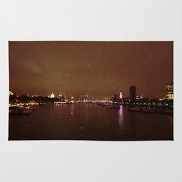 View From Waterloo Bridge #01  Rug