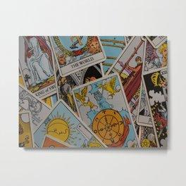 Tarot Cards: Let the Magic Happen Metal Print