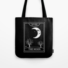 The Moon Tarot Card Tote Bag