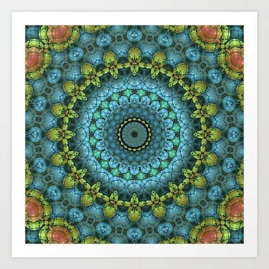 Sunday Mandala Art Print