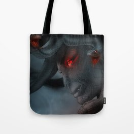 Medusa's Lament, the Eye of the Gorgon Tote Bag