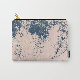 Patina pink navy gold Carry-All Pouch