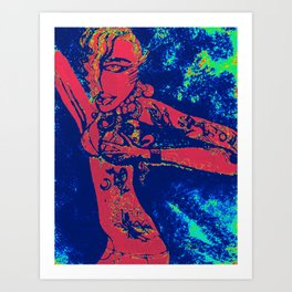 tatedgirlinmydreams Art Print