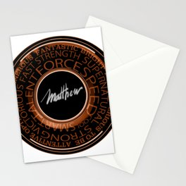 My Name is Mathew Stationery Cards