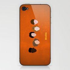 Minimalism Misfits  iPhone & iPod Skin